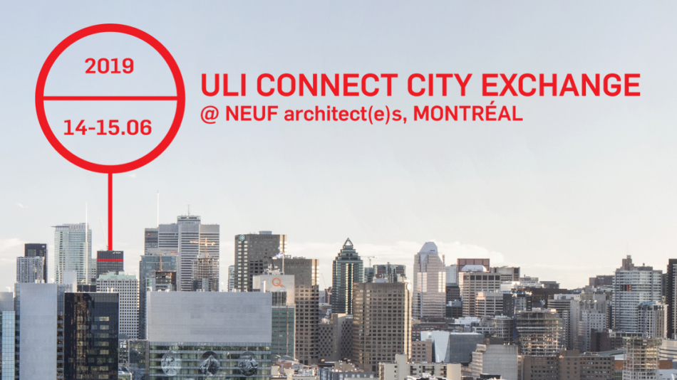 ULI Connect Montreal City Exchange at NEUF!