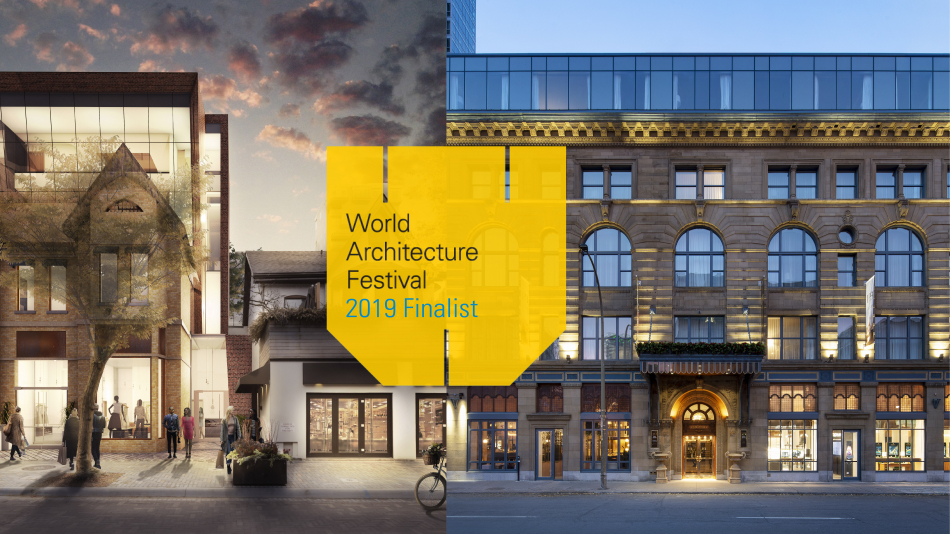 NEUF is shortlisted in the World Architecture Festival for the 4th year in a row!