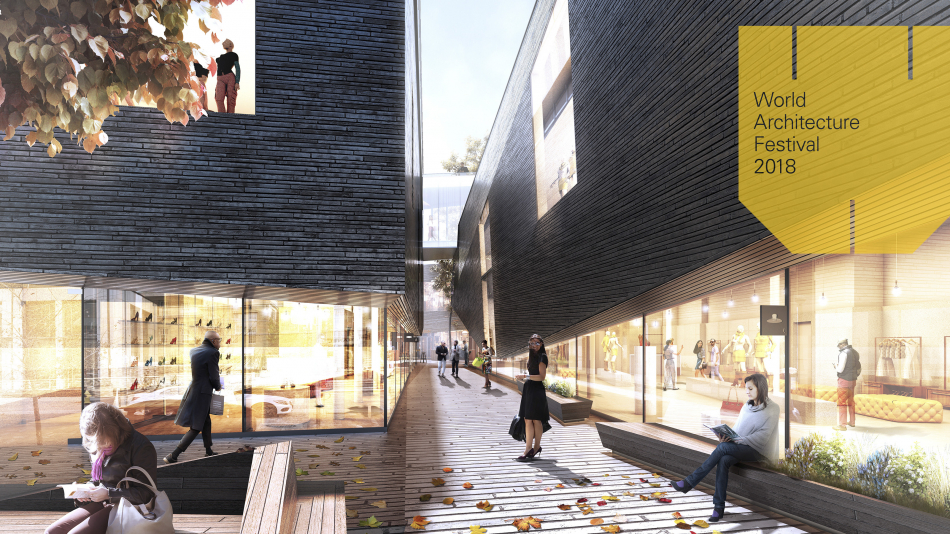 Notre projet The Mews (101 Yorkville) honoré au World Architecture Festival