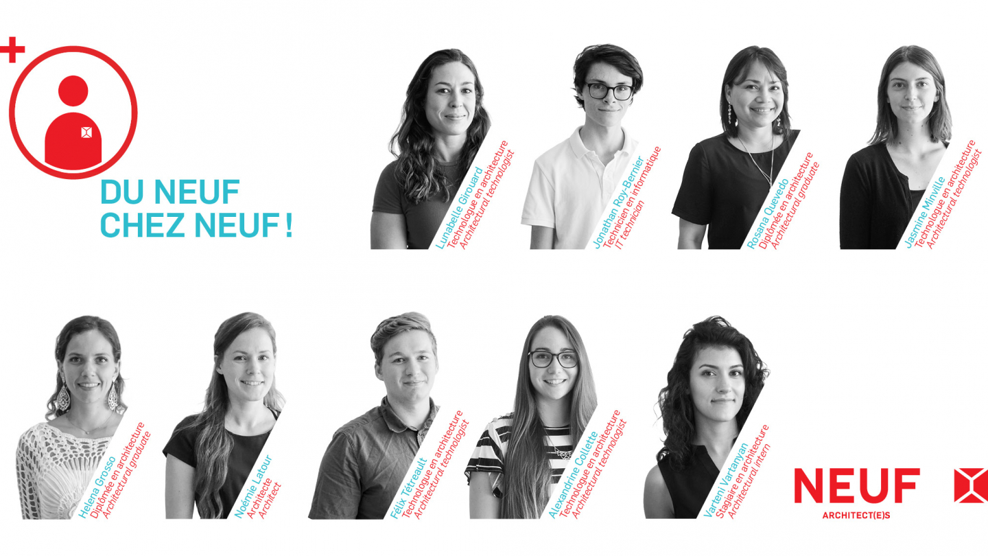 NEUF welcomes 9 new employees!
