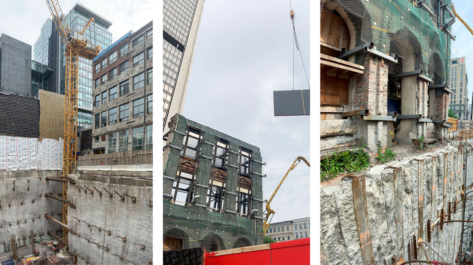 NEUF en chantier: 628 Saint-Jacques