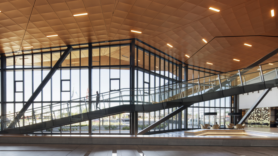 Saint-Hyacinthe convention center winner of three CISC Steel Design awards